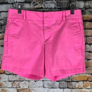 Banana Republic Milly Collection Pink Shorts Sz 2